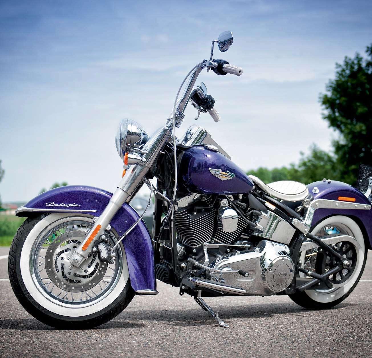 Harley-Davidson Softail Deluxe - Обзор