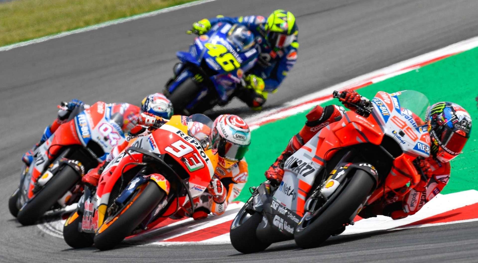 MotoGP 2019: Предварительный календарь соревнований