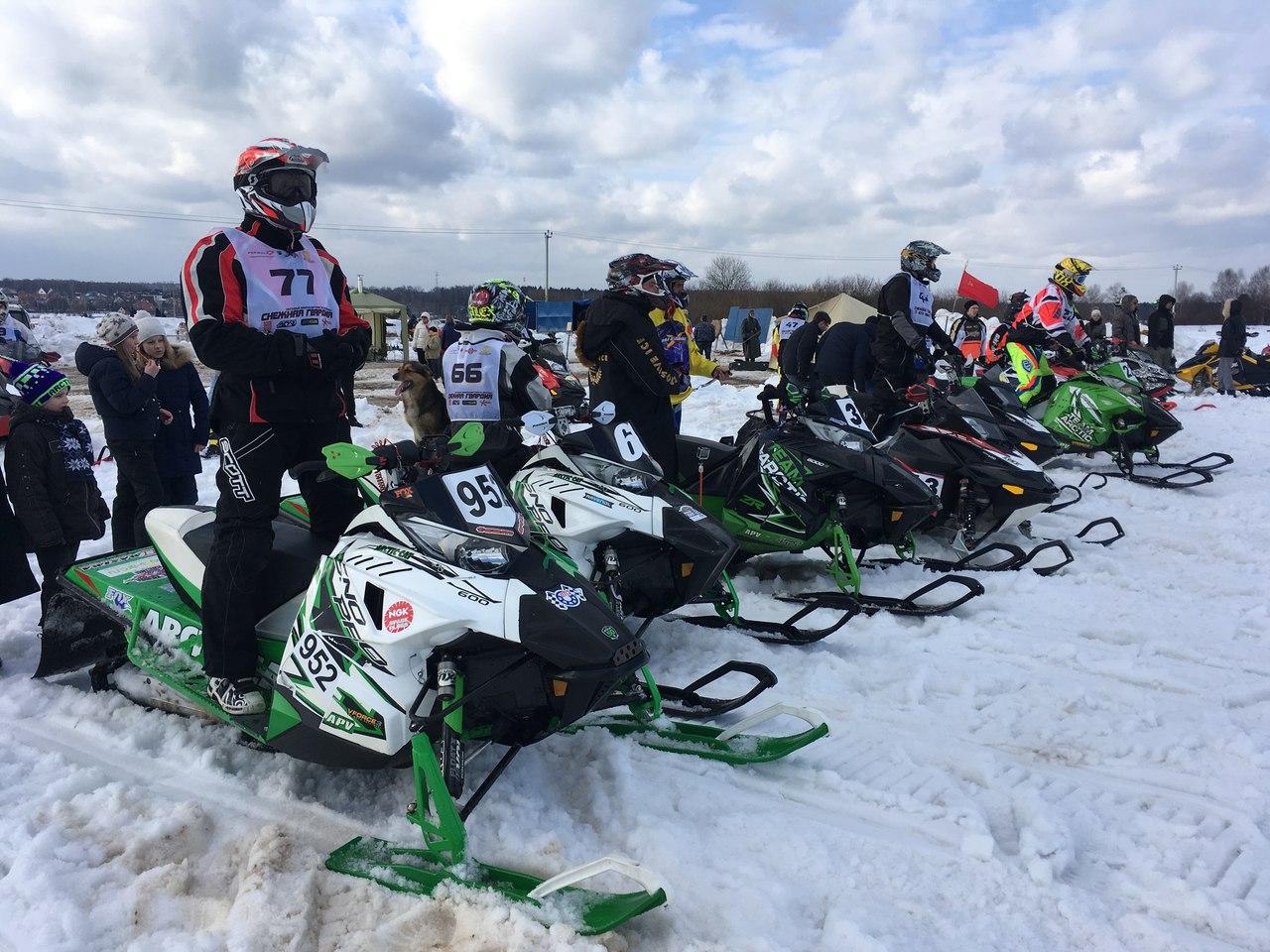 Кантри-кросс на снегоходах Снежная Гвардия 2019 пройдет 26 января