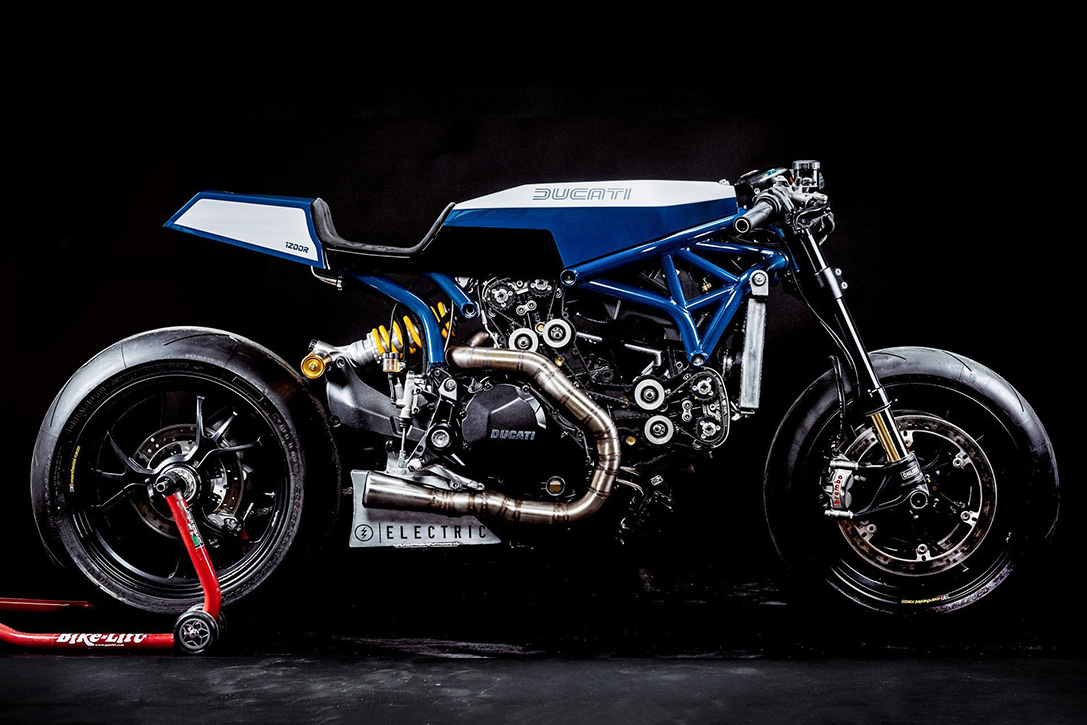 Ducati Monster 1200R Pandora Young Guns Speed Shop