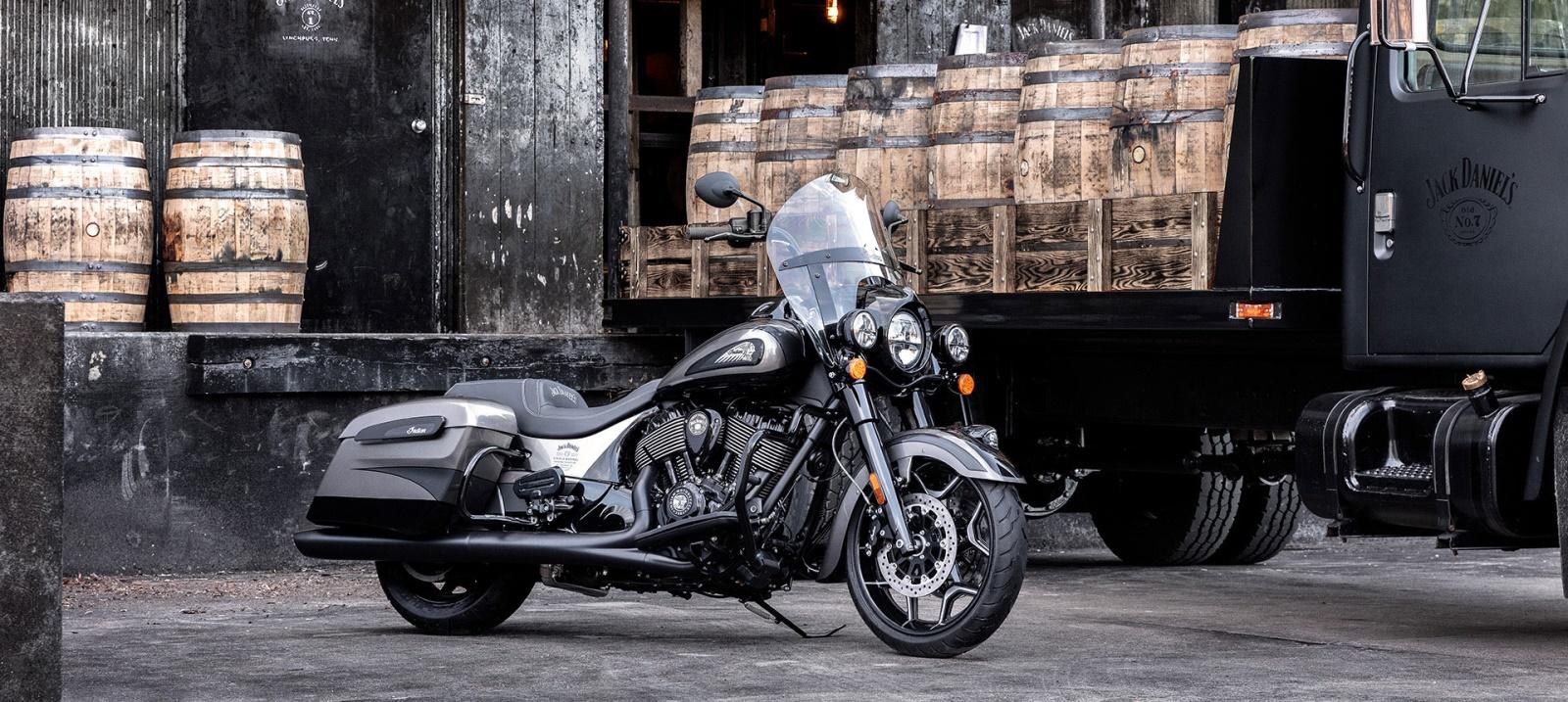 Indian Springfield Dark Horse Jack Daniel`s Limited Edition-2