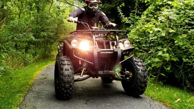 Новый электроквадроцикл DRR Stealth