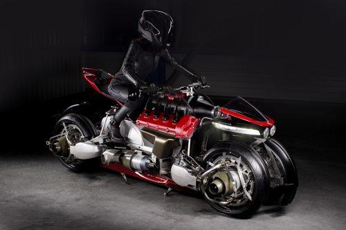 Lasareth La Moto Volante (LMV 496)
