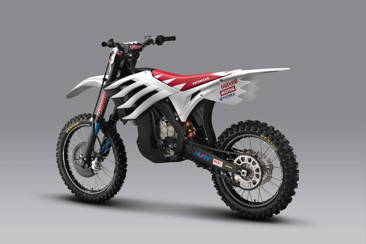 Кроссовый электроцикл Mugen E.Rex_rear