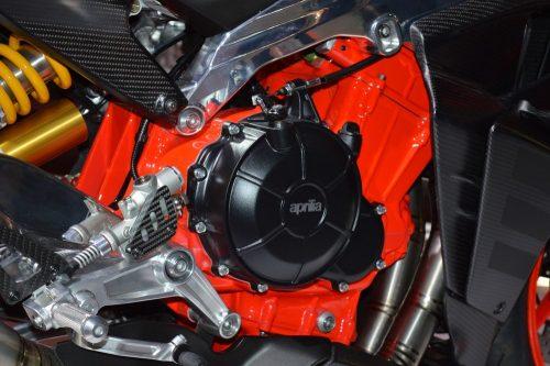 aprilia rs660 concept engine