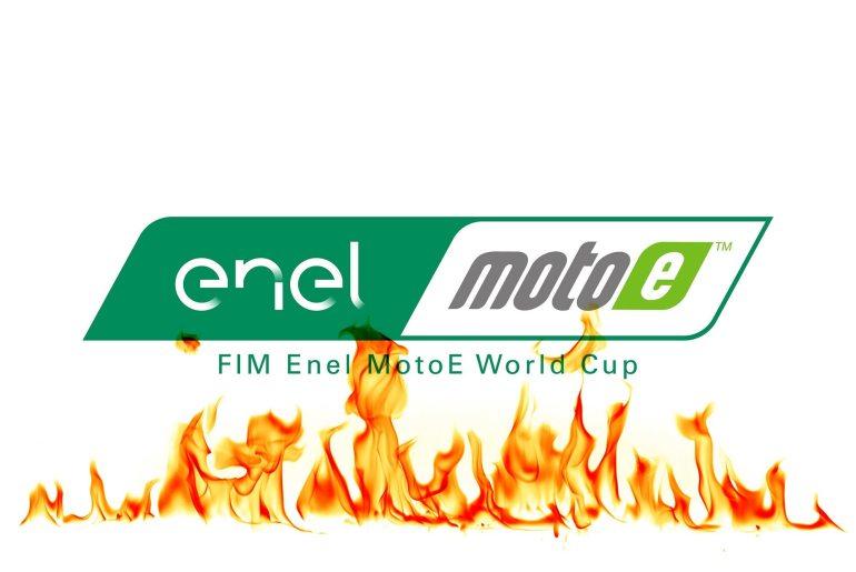 Пожар FIM MotoE World Cup
