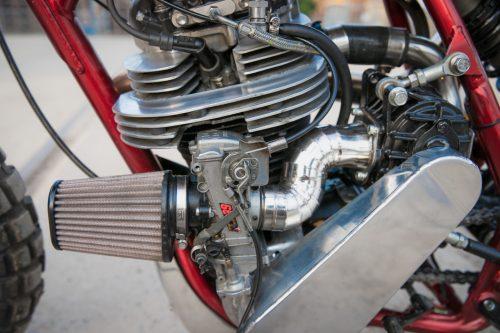 Yamaha SR400 Supercharged6