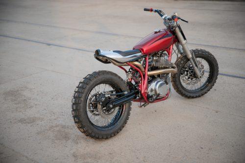 Yamaha SR400 Supercharged7