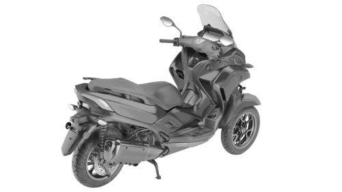 Трицикл Yamaha 3CT_2020