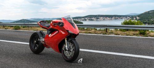 Ducati Panigale Elettrico