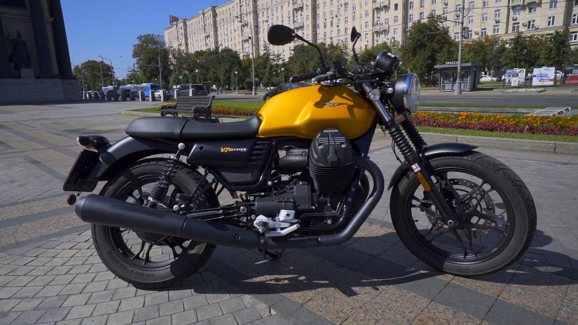 Машина Времени – Видео обзор Moto Guzzi V7III Stone