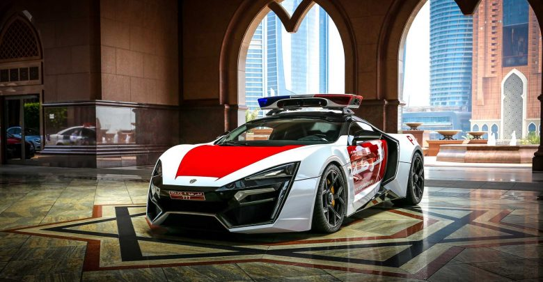 Lykan HyperSport Police Car