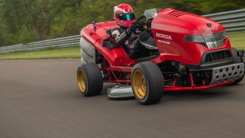 Газонокосилка Honda Mean Mower V2 ставит рекорды скорости