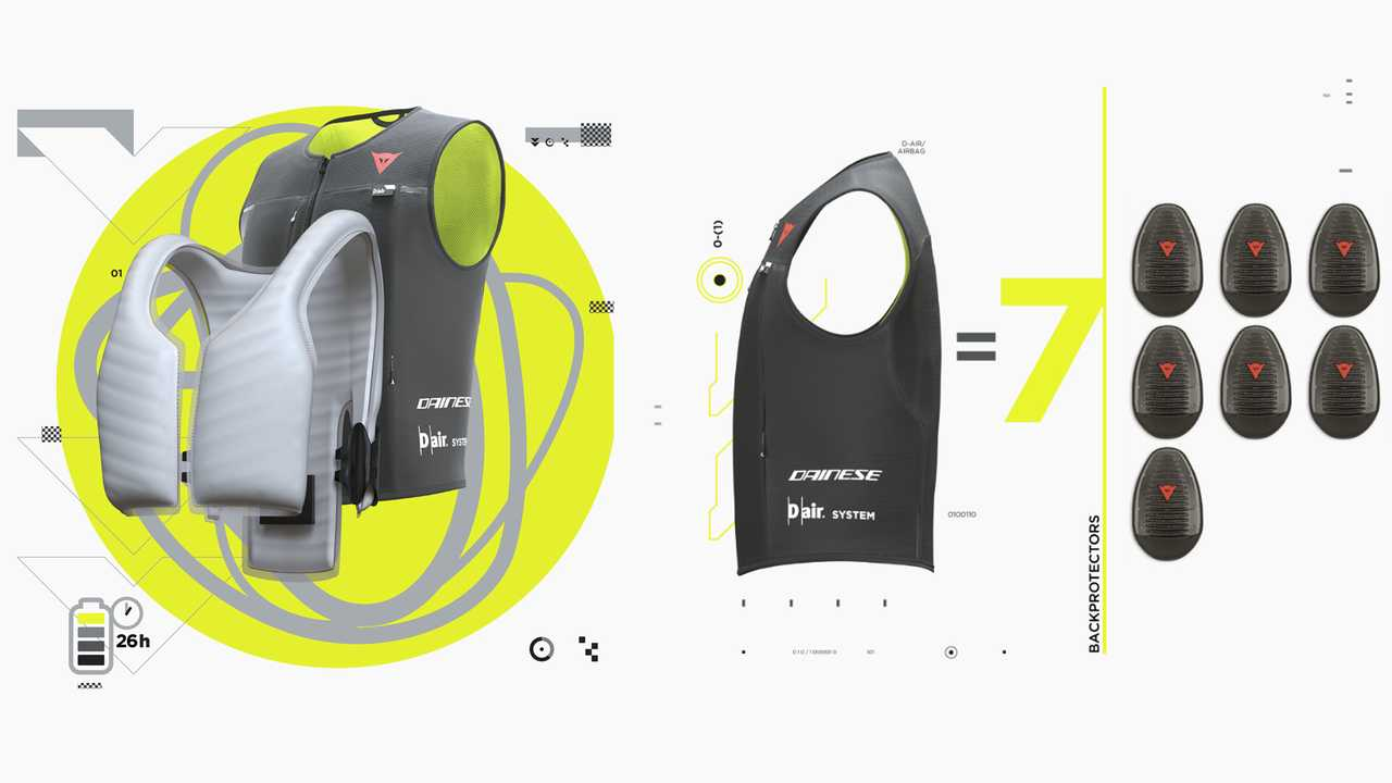Dainese Smart Jacket - умный Airbag для всех_3