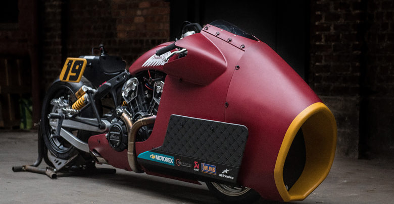 Indian Scout Bobber Appaloosa