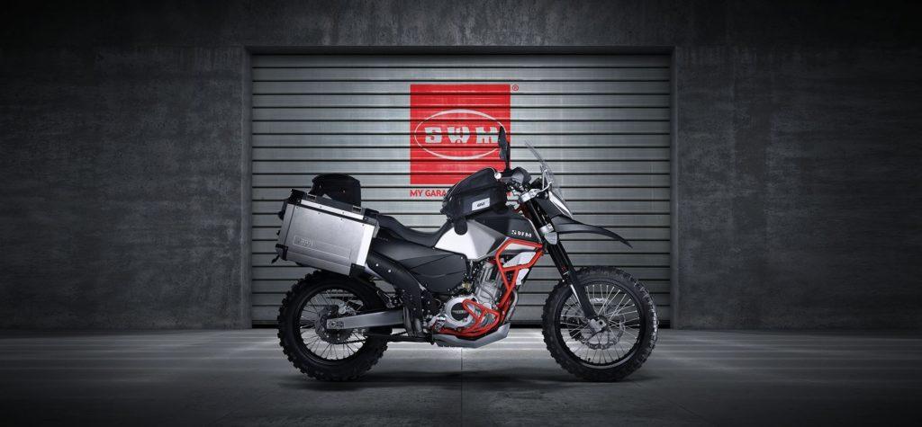 Итальянские мотоциклы SWM Эндуро