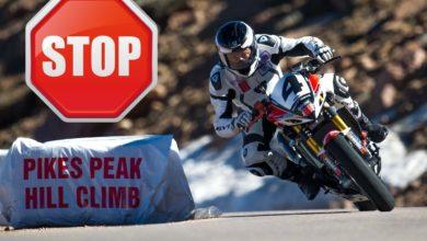 В гонке Pikes Peak запрещают мотоциклы!