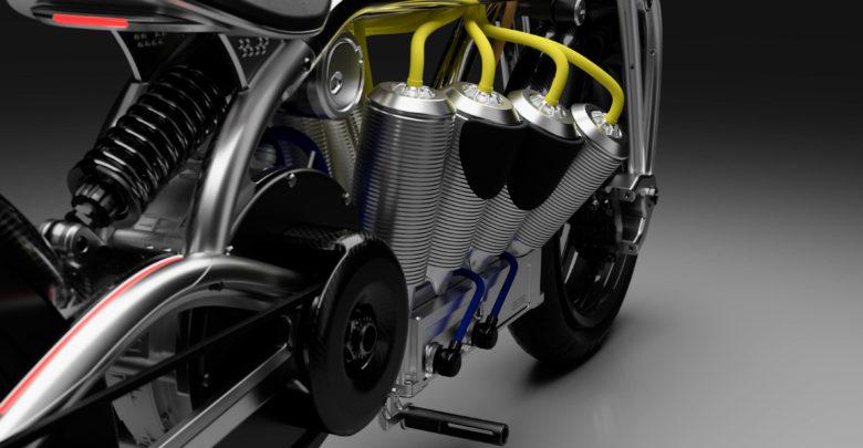 Электроцикл Curtiss Hera V8