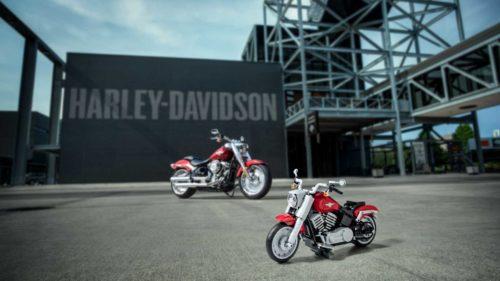 Harley-Davidson Fat Boy LEGO