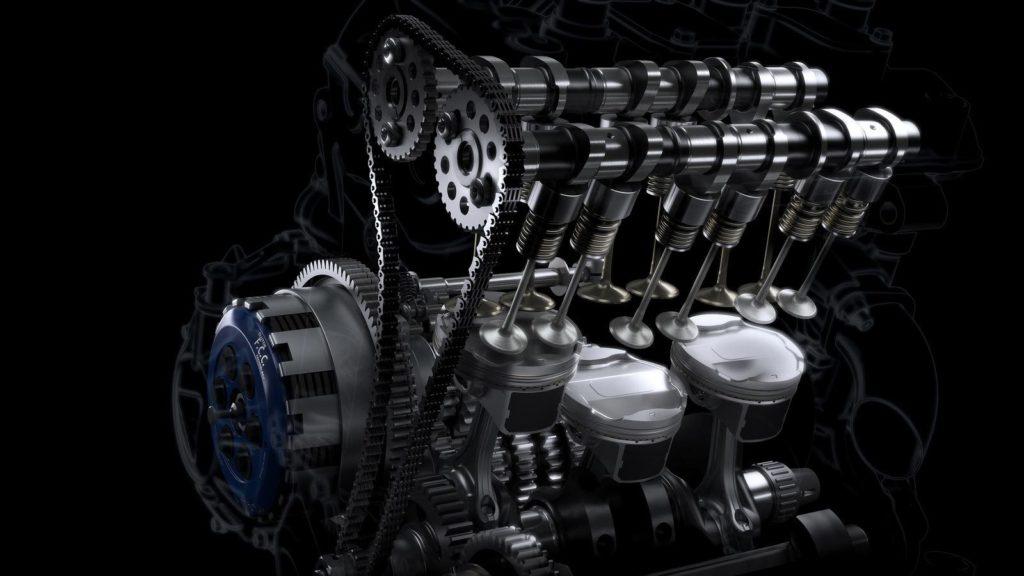 Triumph Daytona Moto 2 765 двигатель