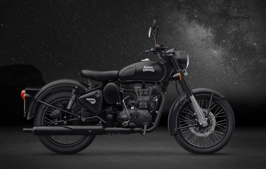 Представлен Royal Enfield Classic 500 Stealth Black