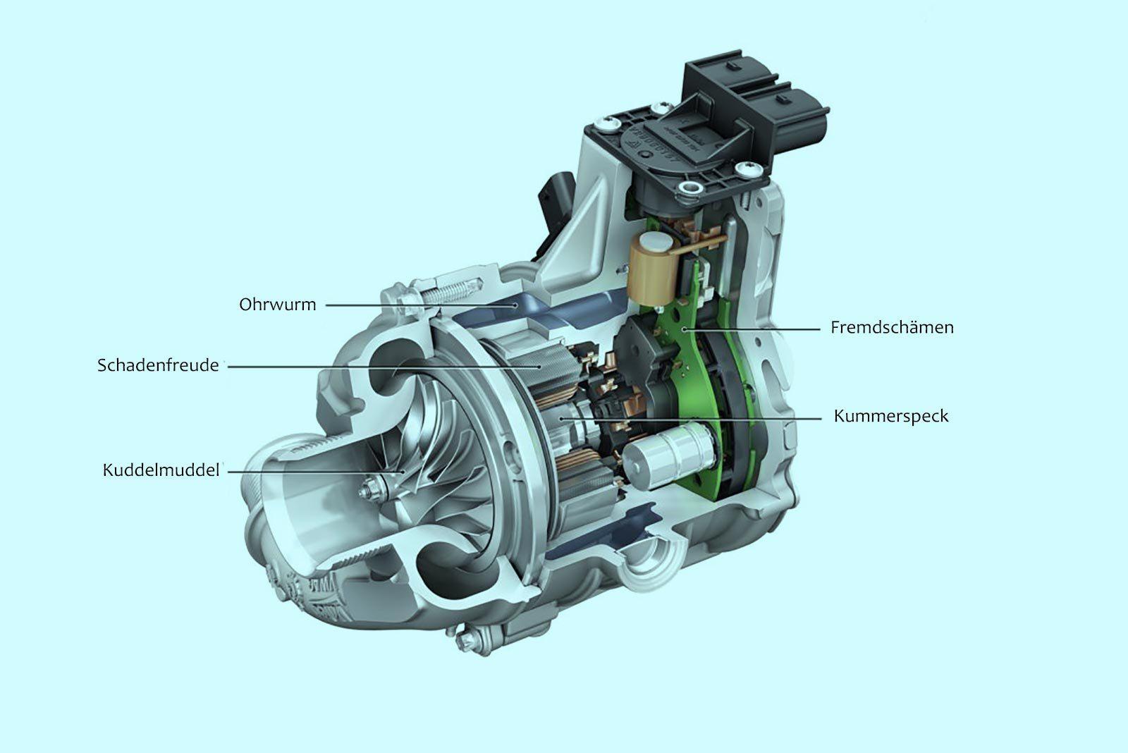 BMW патентует электронагнетатель для S1000RR