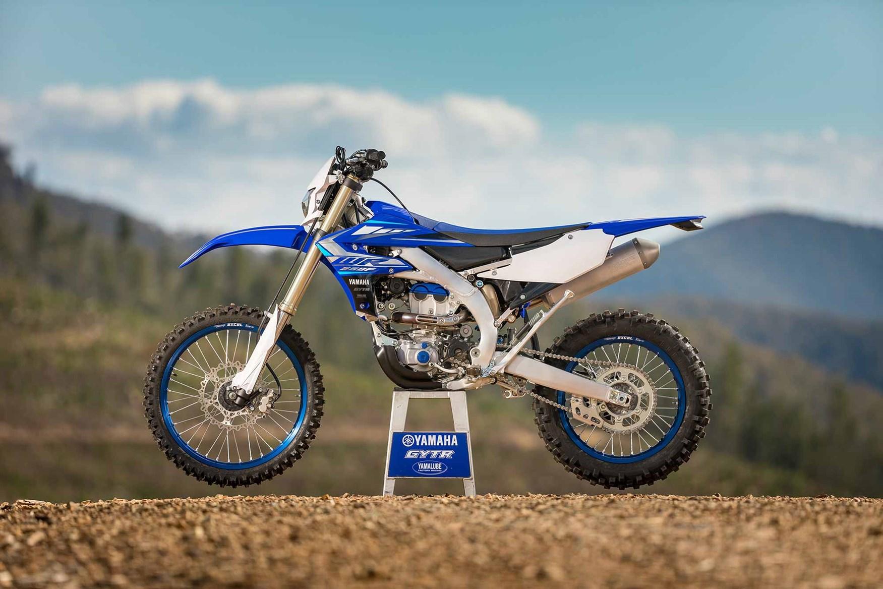 Представлен эндуро Yamaha WR250F 2020