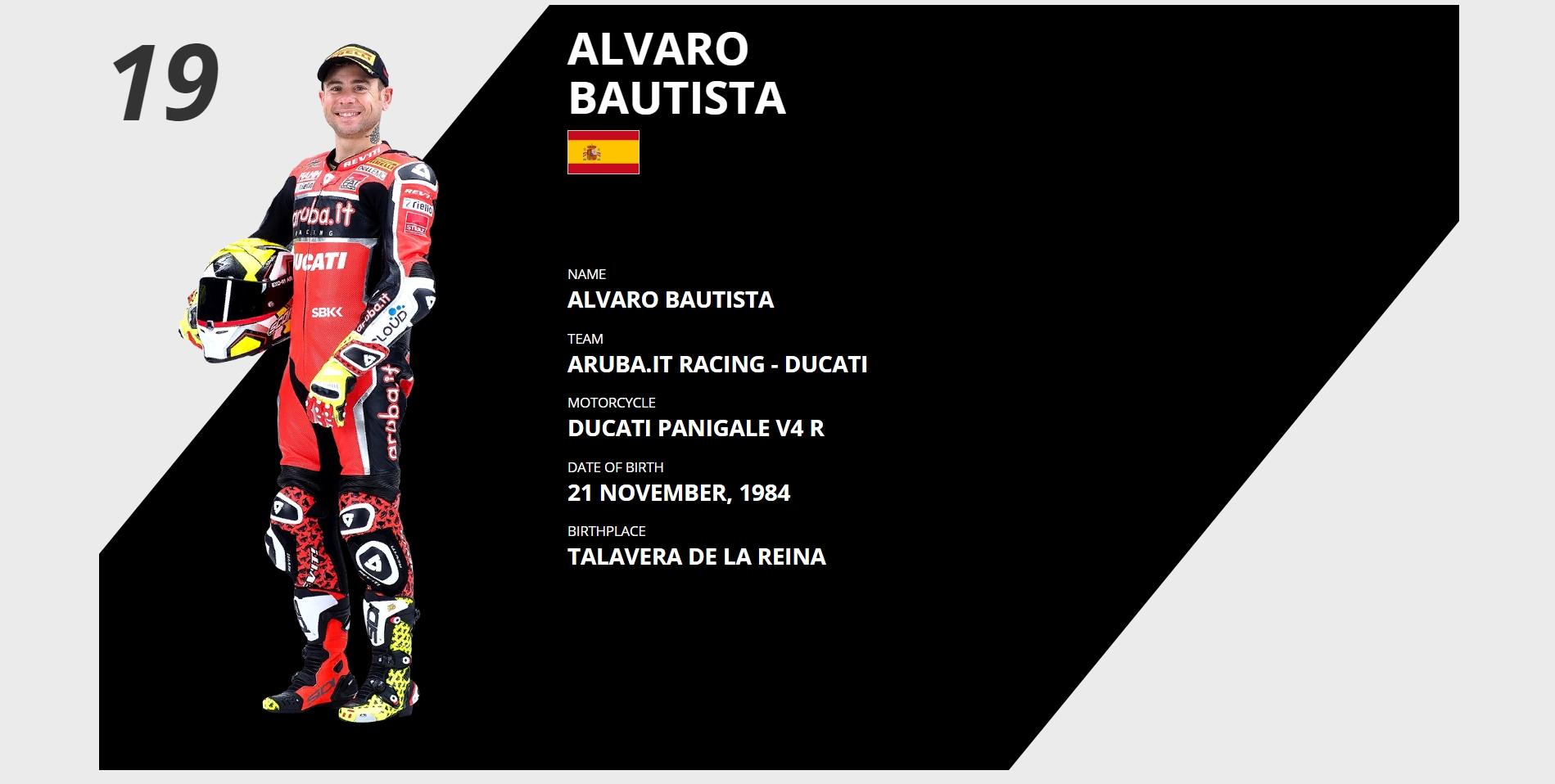 Альваро Баутиста отчаливает в Honda HRC