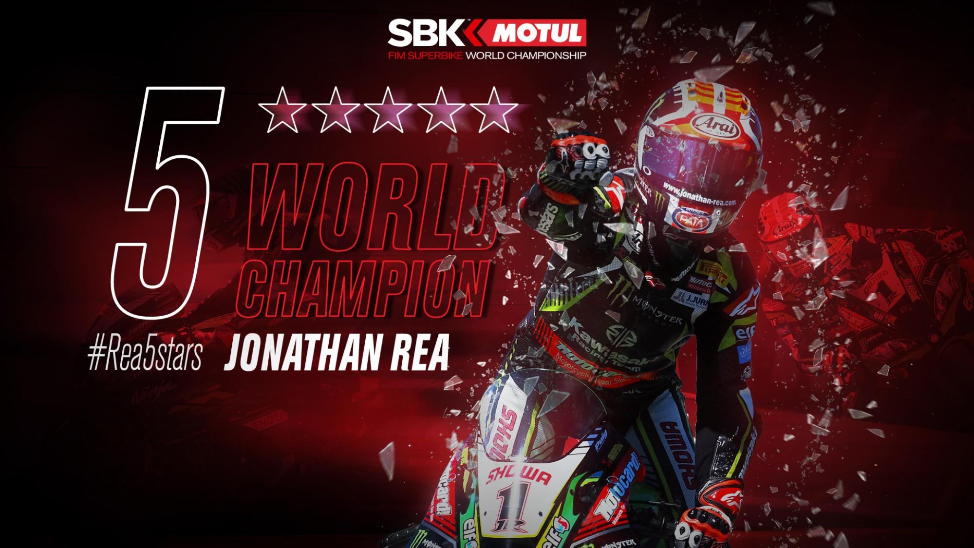 WSBK 2019: Джонатан Рэй досрочно стал чемпионом мира!