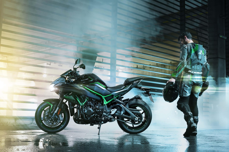 Представлен Kawasaki Z H2 с ТУРБОнагнетателем
