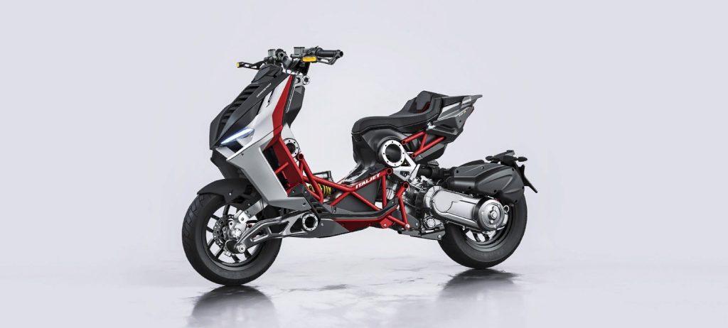 Скутер Italjet Dragster вернется в 2020 году