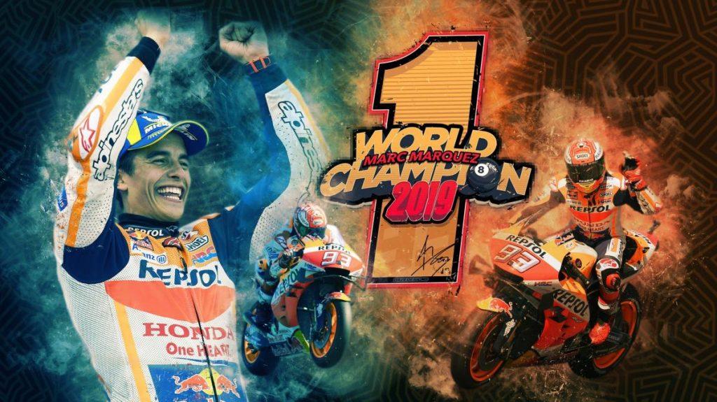 MotoGP 2019: Марк Маркес досрочно стал 8-ми кратным чемпионом мира!