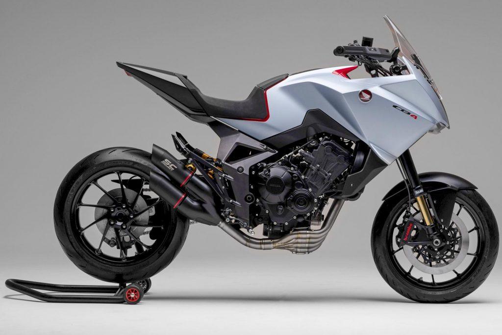 EICMA 2019: Концепт Honda CB4X