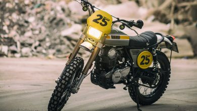 Скрэмблер Yamaha SR250 от Café Racer Dreams