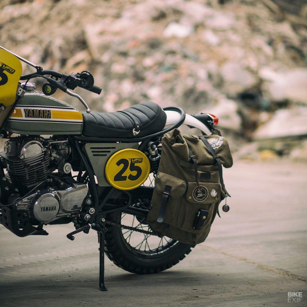 Скрэмблер Yamaha SR250 от Café Racer Dreams