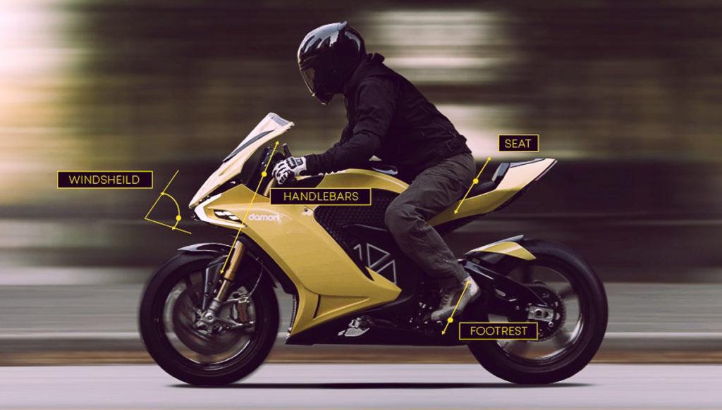электроцикл Damon Hypersport HS