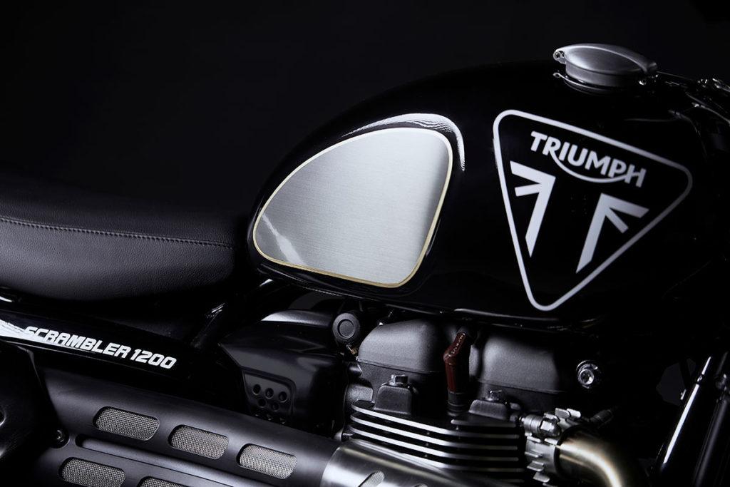 Are the specials. version Triumph Scrambler 1200 Bond Edition