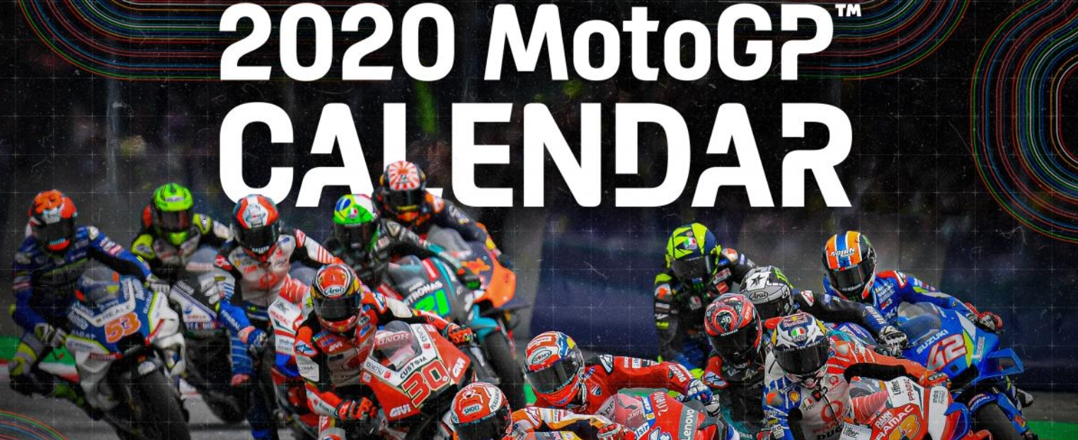 MotoGP 2020: Updated calendar (13 races)