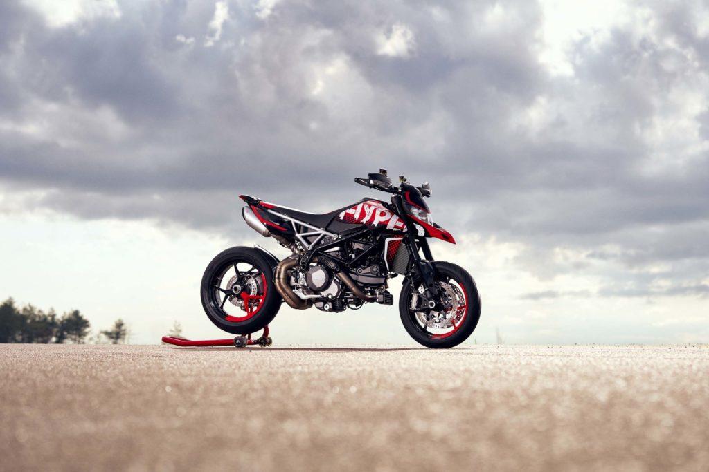 Presented Ducati Hypermotard 950 RVE 2020