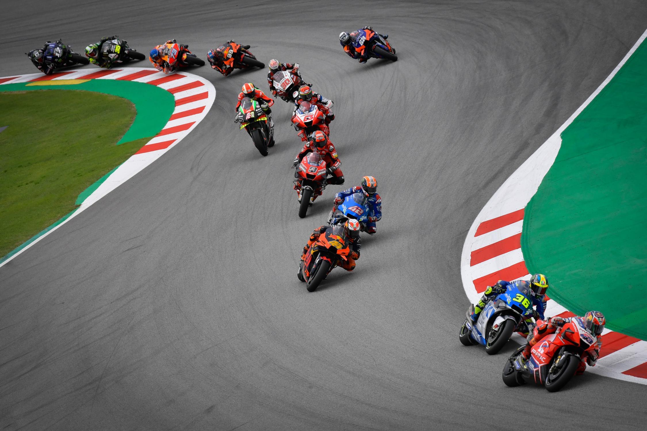 MotoGP 2020 Результаты Гран При Каталонии