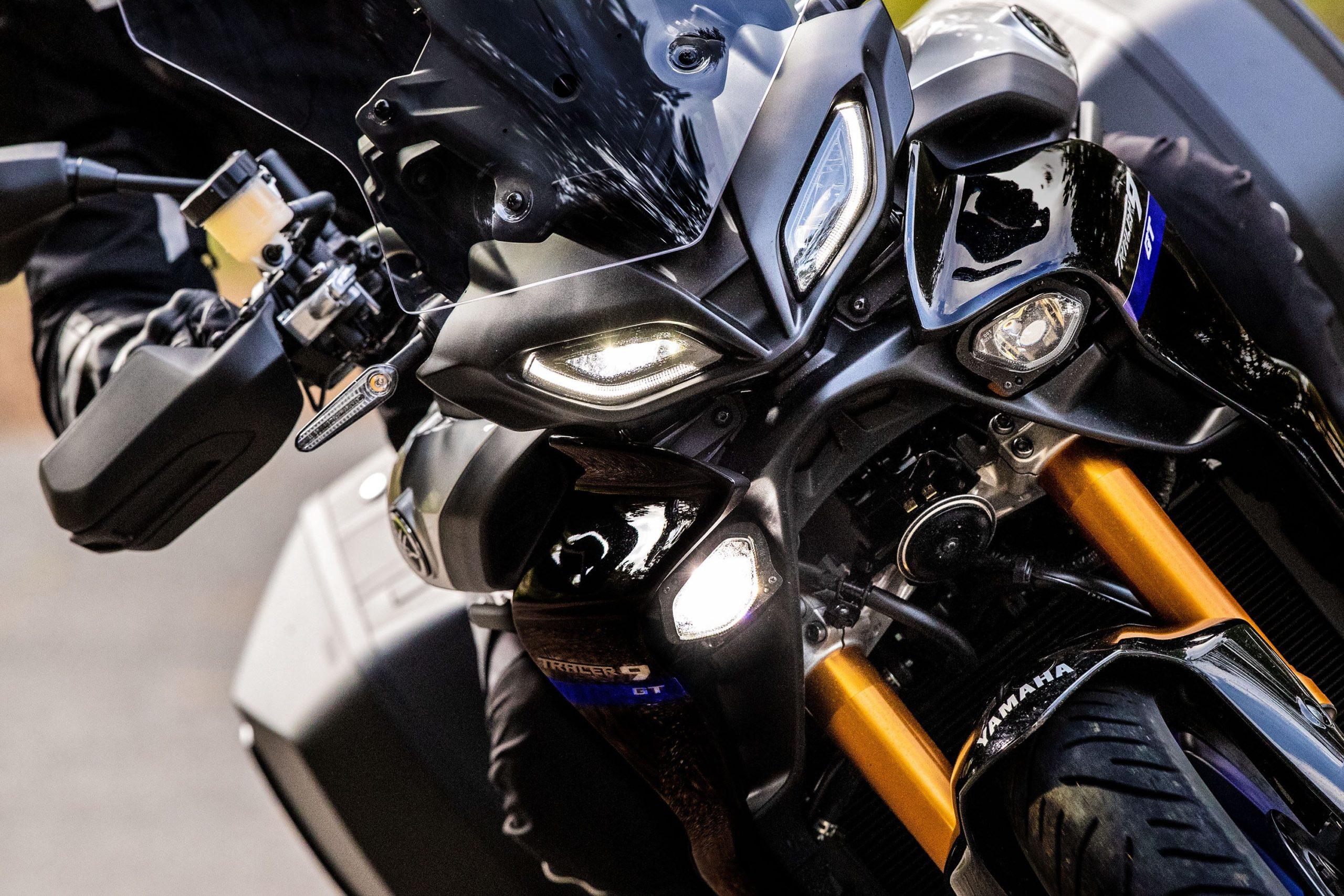 Представлены Yamaha Tracer 9 и 9GT 2021