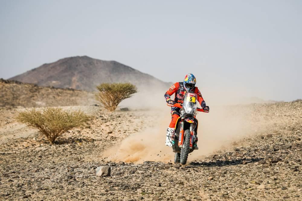 Дакар 2021, Результаты 4 этапа (Мотоциклы):