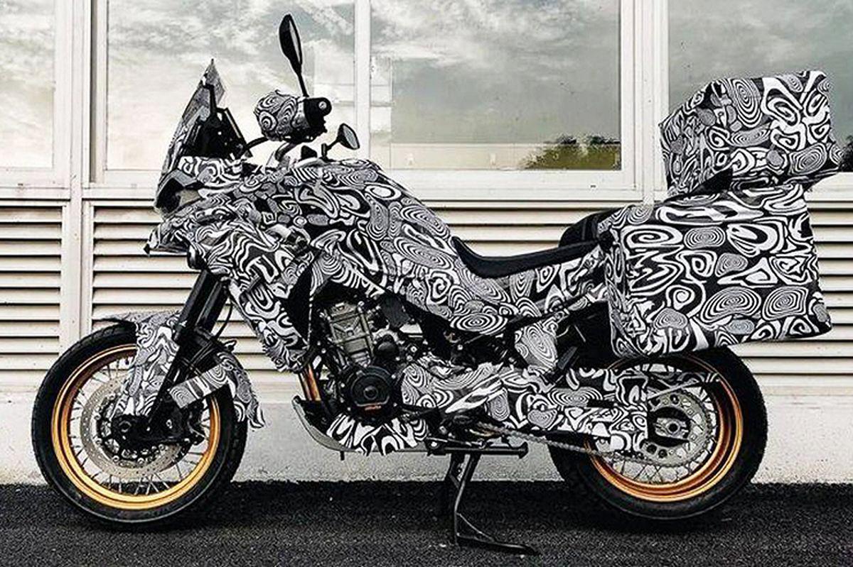Турэндуро CF Moto MT800 2021 скоро будет представлен!
