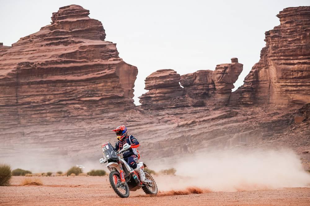 Дакар 2021: Результаты 10 этапа (мотоциклы)