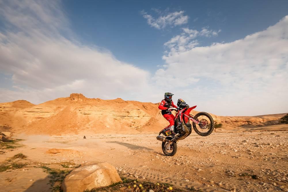 Дакар 2021: Обзор 5 этапа (мотоциклы)