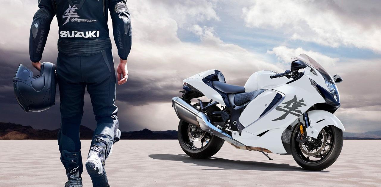 Представлен гипербайк Suzuki Hayabusa 2021