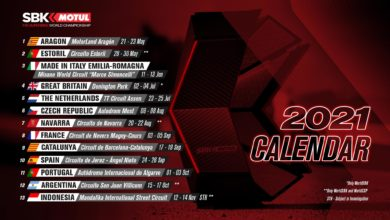 Календарь WSBK 2021 снова обновился из-за COVID-19
