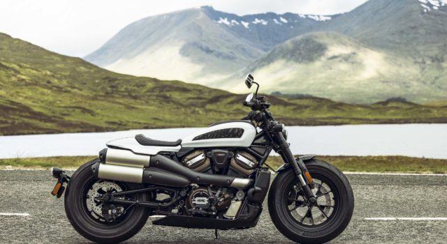 Представлен новый Harley-Davidson Sportster S 2021