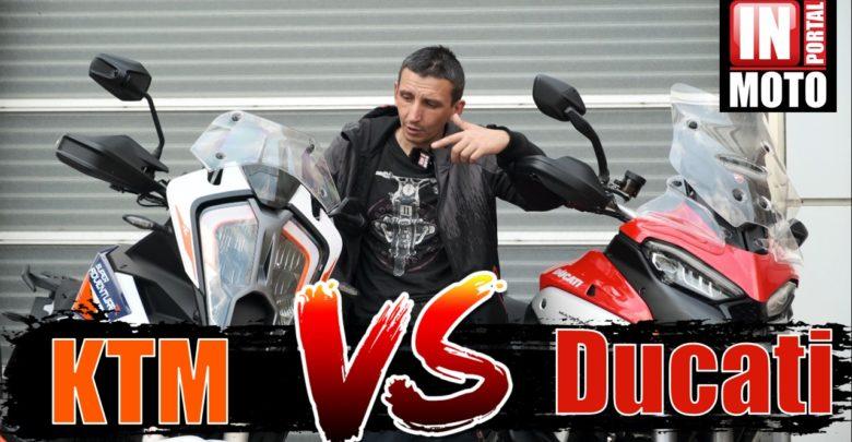KTM 1290 Super Adventure (SAR) 2021 VS Ducati Multisrada V4 — КТО БЫСТРЕЕ?