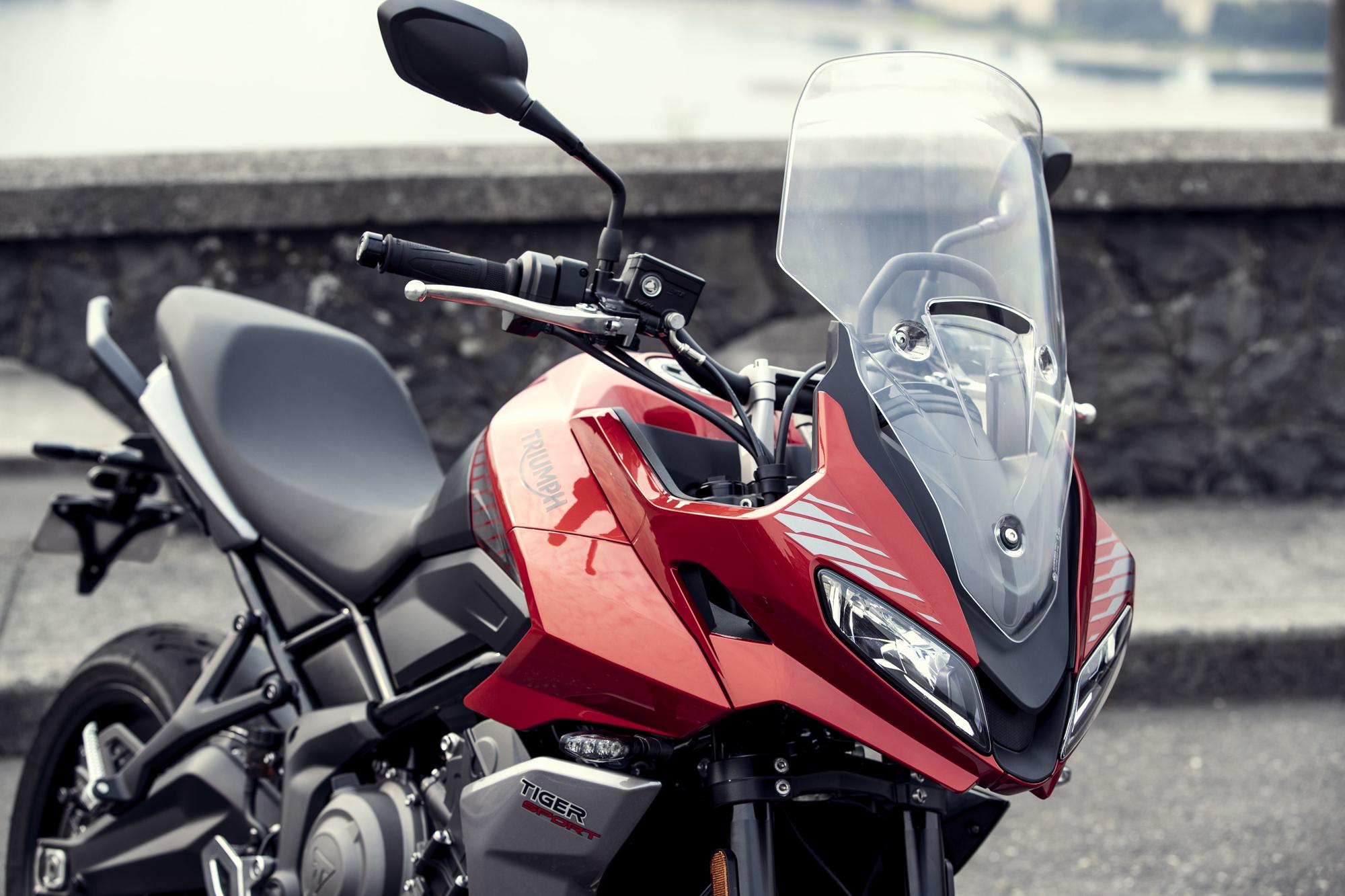 Представлен Triumph Tiger Sport 660 2022